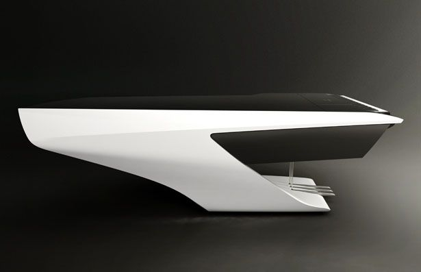 Stunningly beautiful piano concept has been unveiled by Peugeot Design Lab as the result of its collaboration with Pleyel, a piano manufacturer.