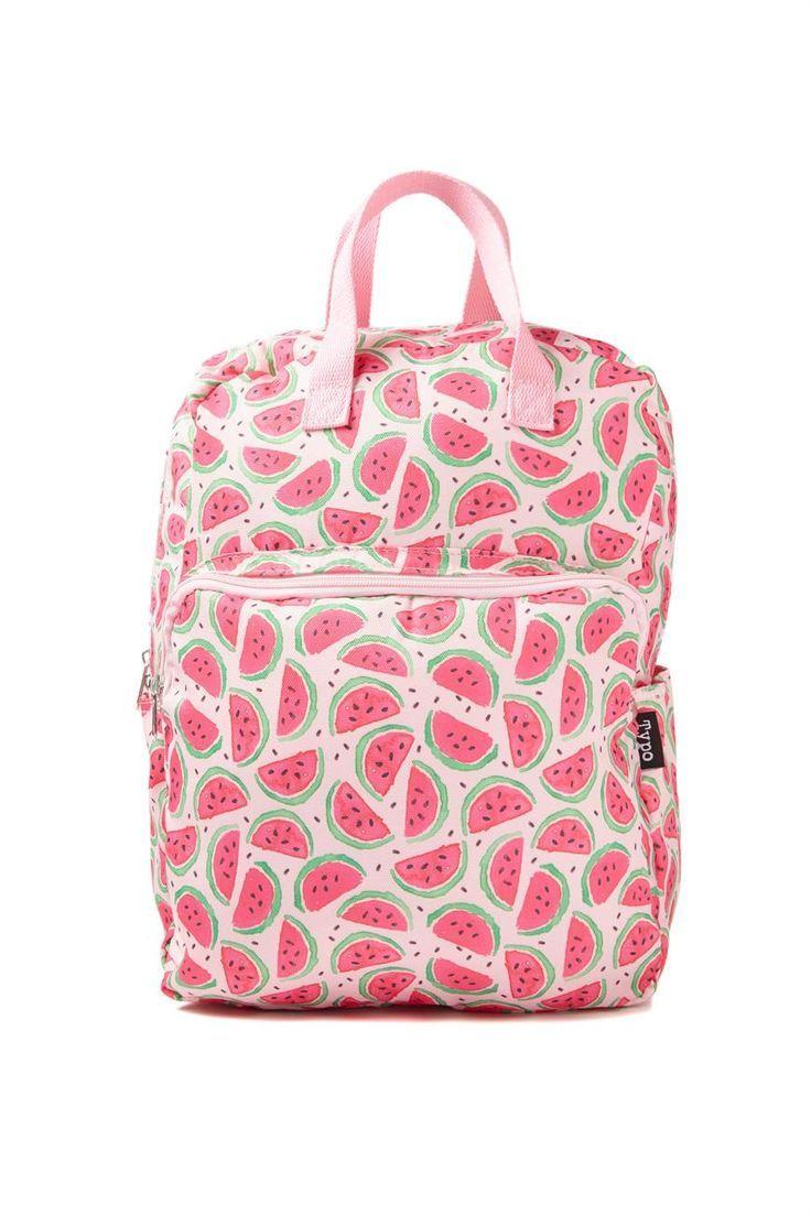 In Erinnerung an den Sommer. Der Wassermelonen Rucksack.