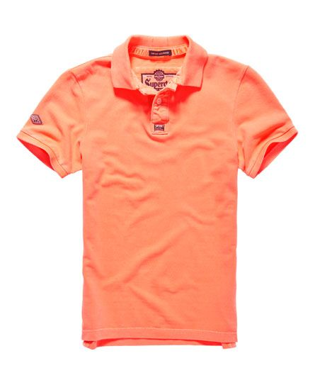Superdry Polo in piqué New Vintage Destroyed