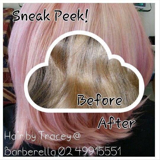 Sneak peek at Dusk Pink Hair