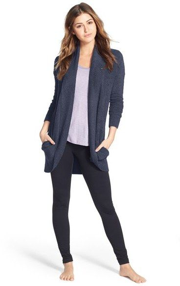 Treated myself to this beauty during the Nordstrom anniversary sale. Barefoot Dreams  Barefoot Dreams 'Circle' Cardigan.