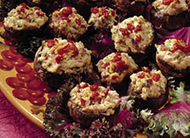 Stuffed Mushrooms, Baby Recipe — Dishmaps