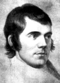Burns died aged 37 of rheumatic fever which he contracted after falling asleep at the roadside (after a particularly vigorous drinking session) in pouring rain. The last of Burns' children was actually born during his funeral service.