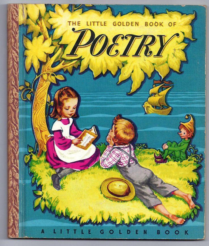 ''The Little Golden Book of Poetry'' 1947 Little Golden Book, illus. Corinne Malvern | eBay