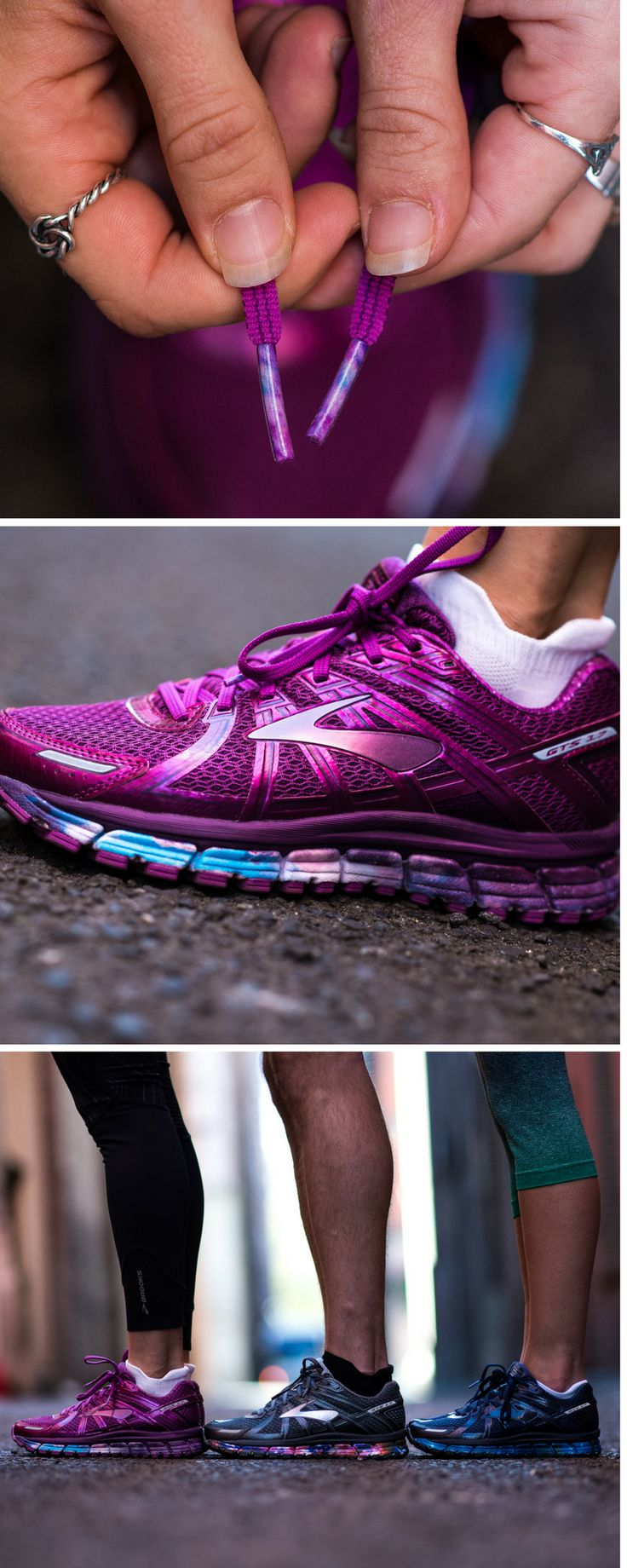 Light Up Your Run | The Galaxy Collection | Limited Edition Running Shoes From Brooks
