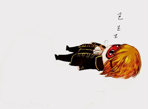 Okita Sougo | Gintama | Credits to the owner of the picture, I don't own the picture. // I want his sleep mask... > 3