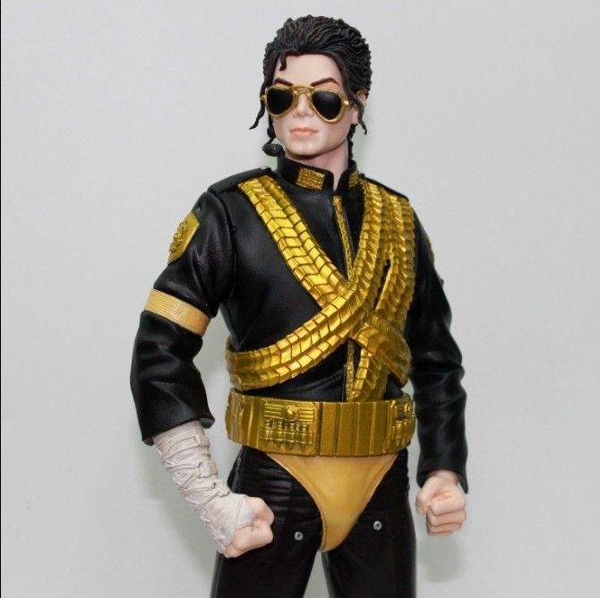 Michael jackson doll 12 figure dangerous world tour toy for Three jackson toy