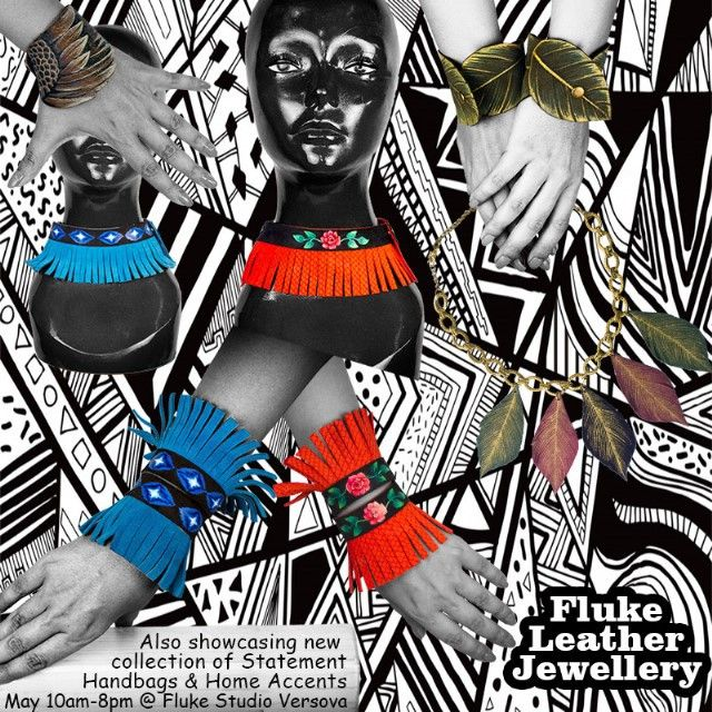 #leather #statement #necklace #neckpiece #bracelets #cuffs #multipurpose #jewellery #showcase #unique #bespoke #handpainted #fashion #lifestyle #accessory #designer #fashionista #dreamer #accessories #accessorize #art #artist #design #decor #flukedesign #handpaint #handcraft #handcrafted #limitededition #Vintage