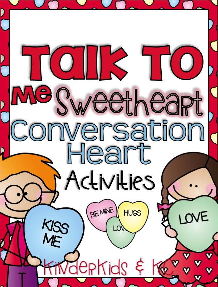 LOTS and LOTS of fun activities to do with candy conversation hearts! $