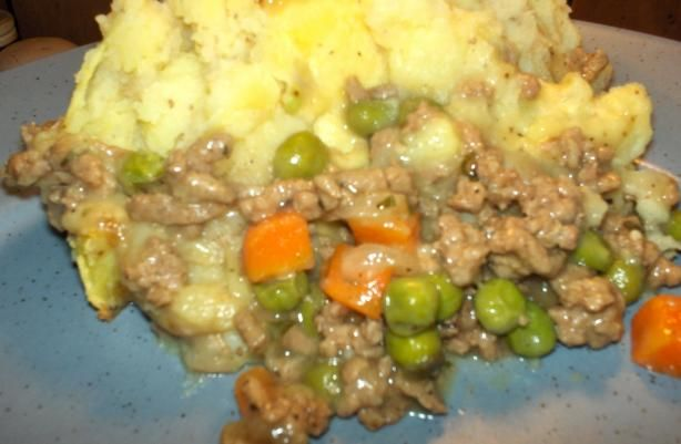 Weight Watcher s Shepherd s Pie from Food.com: 3 Points for a 1 cup serving! A delicious meal, especially on a cold winter evening.