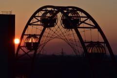 Das Sonnenrad auf Zollverein.....