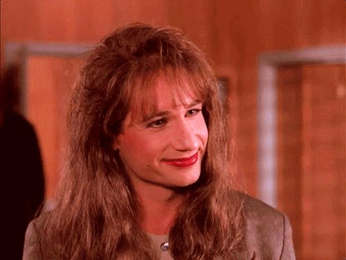 """""""Always be yourself."""" David Duchovny as Denise Bryson. ~ 26 Things 'Twin Peaks' Taught Us About Life"""