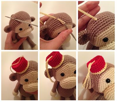 Cheeky Monkey Crochet Pattern Free : 1000+ images about Animales. on Pinterest Spanish ...