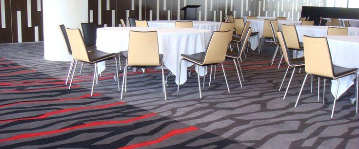 Eden Park, Auckland: Custom Designed Axminster carpet by Irvine Flooring