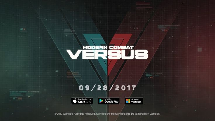 The Wait Is Over! MODERN COMBAT VERSUS Release Date Teaser Modern Combat Versus is launching worldwide September 28th on the iOS Android and Windows 10! Get ready to experience a new era of FPS on mobile. Don't forget to pre-register at http://ift.tt/2mb8l6M!  Don't forget to SUBSCRIBE http://ift.tt/2kLIili Visit our official site at http://www.gameloft.com Check out the new blog at http://gmlft.co/central Don't forget to follow us on social media: Facebook: http://ift.tt/2nAjzPb Twitter…