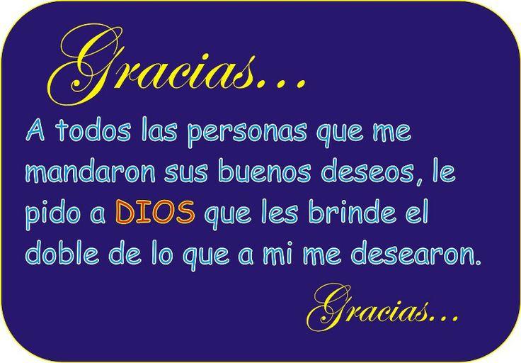 Muchas gracias a todos por sus felicitaciones, Los quiero mucho | GRACIAS POR LOS SALUDITOS DE CUMPLEAÑOS!!!