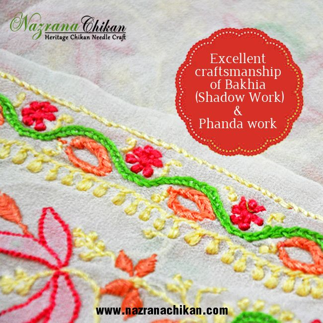 Pin this post if you are a #chikankari  fan .... Shop for chikankari @http://www.nazranachikan.com/