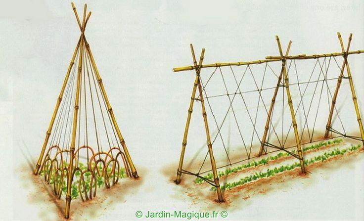 Rames Pour Petits Pois Bricolage En Pr Vision Jardin Plantes Et Astuces Pinterest
