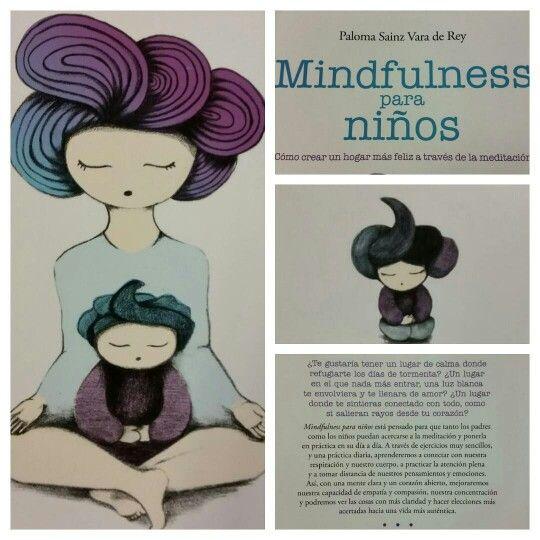 """Ya tenemos """"Mindfulness para niños"""" con ilustraciones de @agnesdaroca_ ¡Qué chulo!"""