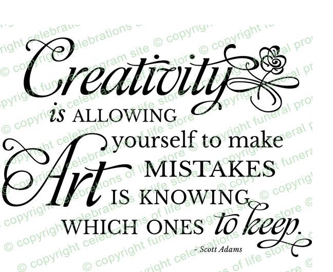 Inspirational Quotes About Life: Creativity PreDesigned