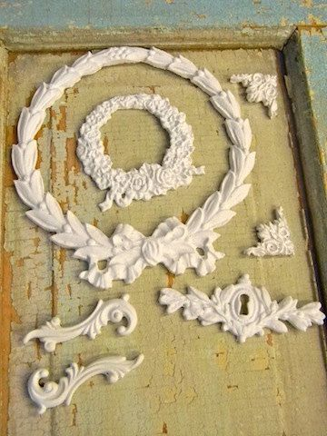Shabby  Chic Rose & Floral Furniture Applique Lot by diychicgirl, $14.95