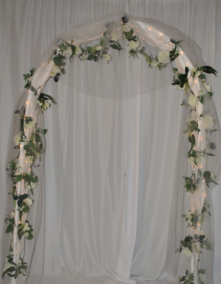 Wedding arches related searches for lighted wedding arch for Arches decoration ideas