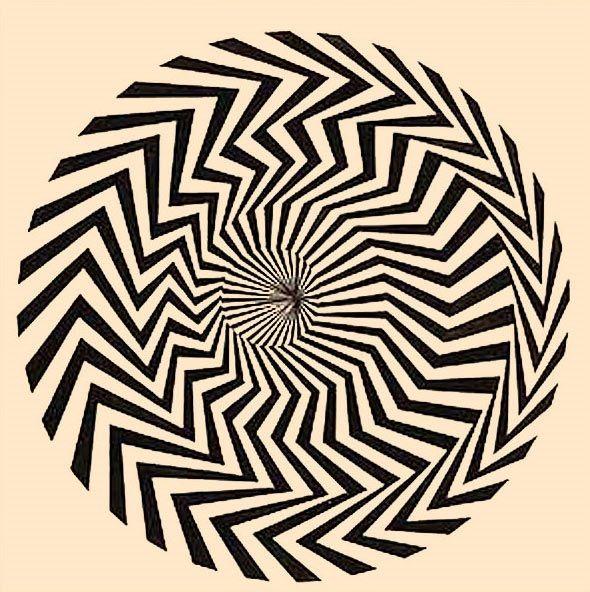 Non c'è trucco, non c'è inganno: le immagini diquesta fotogallery psichedelica sono tutte rigorosamente immobili.Eppure osservatele bene... si muovono, o meglio, sembra che si muovano!Ma com'è possibile? Cosa inganna occhio e cervello creando ciò che inrealtà non esiste? È la magia dell'op-art o optical art, l'arte ottica:sfrutta i meccanismi che regolano il funzionamento della vista peringannarla, facendo apparire ciò che in realtà non è.