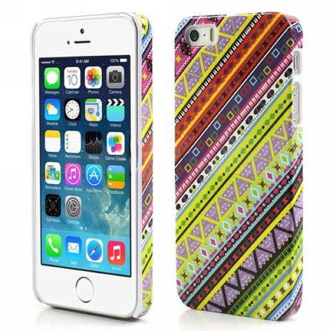 Aztec Art Design Hard Back Case Cover for Apple iPhone 5 5s retro – Bracevor