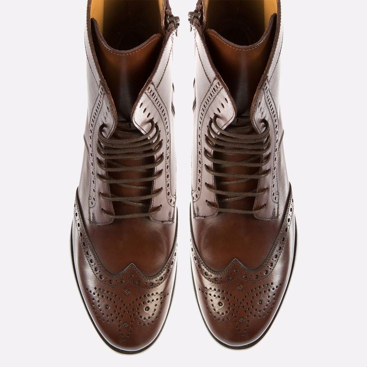 Nolita lace-up oxford boot has a lateral zipper that allows you to bypass the laces for the girl who's always on the go.