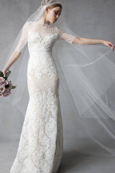 Lyra bridal maxi dress
