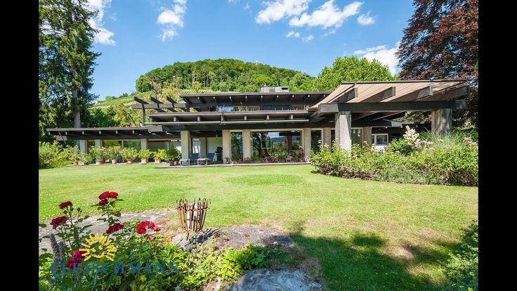 Repräsentative Villa mit Schwimmhalle und Park in Stein am Rhein