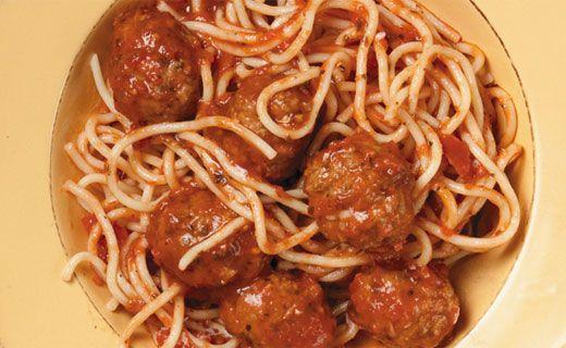 Epicure's Spaghetti and Meatballs