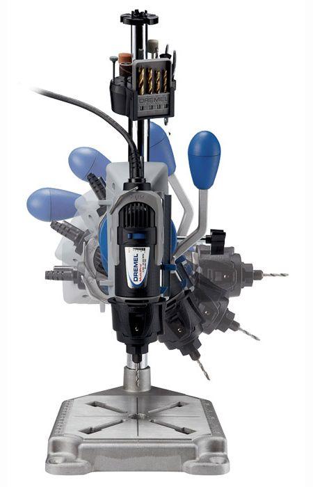 La Dremel estación de trabajo añade una nueva dimensión al uso de un Dremel MultiTool y le permite la flexibilidad para hacer frente aún más la artesanía y aficiones.