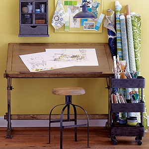 Drafting Desk | World Market Coming Home With Me. More Gray Than The  Picture,