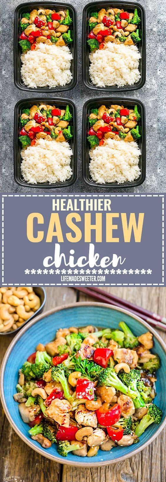 Healthier Slow Cooker Kung Pao Chicken makes the perfect easy and lightened up weeknight meal. Best of all, this takeout favorite, is SO much healthier and better than your local Chinese restaurant with just a few minutes of prep time. With gluten free and paleo friendly options. Weekly meal prep or leftovers are great for lunch bowls for work or school.