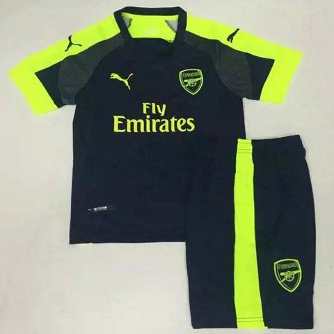 Baju Bola Anak Arsenal 3rd 2017 Puma | Jual Jersey Kids Arsenal Third 2016/17 Grade Ori Terbaru !!!
