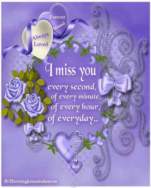 Miss you sister in heaven