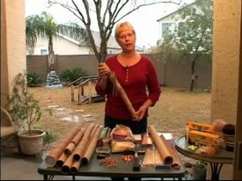 How to Make a Rain Stick : Tips for Using Sound Filters in Rain Sticks - YouTube
