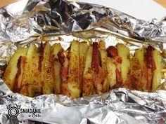 ...Pomysłowe i pyszne śniadania!: Szaszłyk z ziemniaków (z grilla lub z piekarnika)