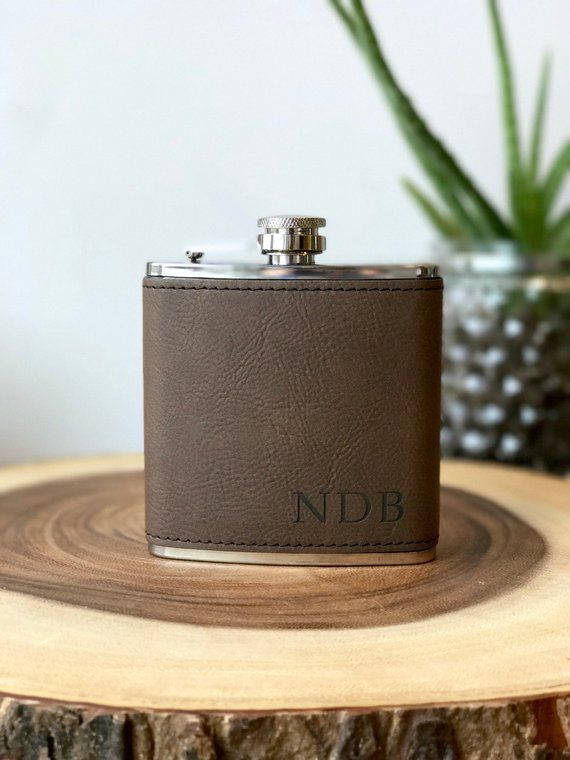 personalized flask for fathers