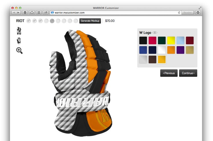 My Customiser tool for brands http://mycustomizer.com Article: http://venturebeat.com/2012/11/08/mycustomizer-if-mass-customization-is-the-future-heres-the-tool-to-create-it/