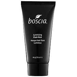 Not black soap, however, Boscia's Luminizing Black Mask is full of minerals, detoxes your complexion and deeply exfoliates as well. Plus it peels off! | Sephora, $34.00