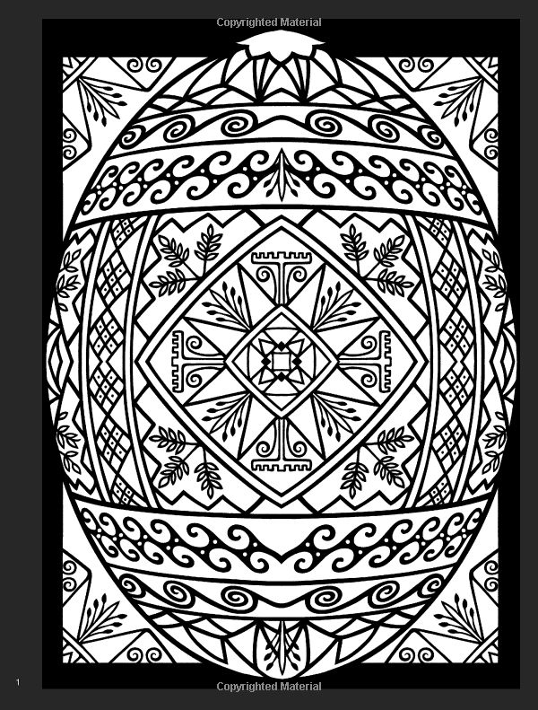 Easter Coloring Pages Advanced : Best advanced coloring easter images on pinterest
