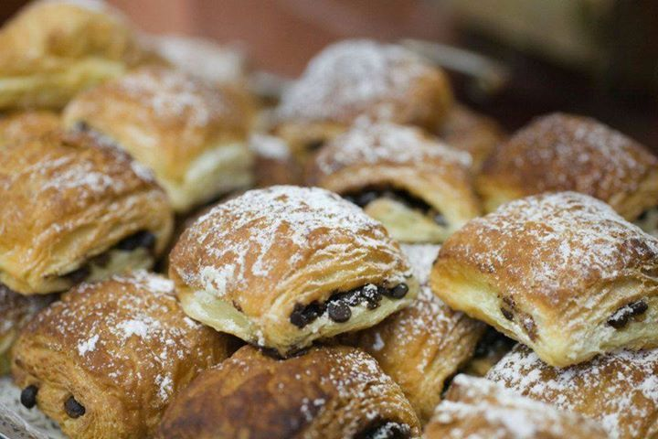 Our fresh baked pastries...
