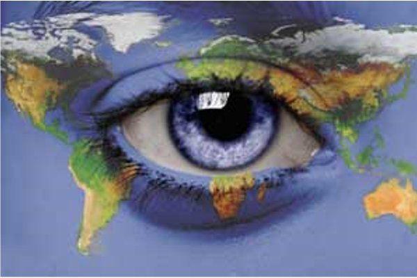 """An eye for an eye will make the whole world blind."" Gandhi"