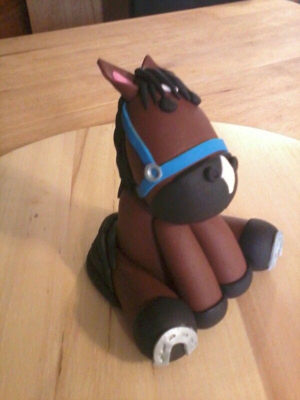 Fondant horse