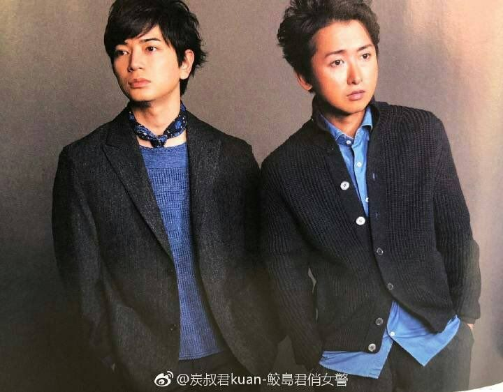 """""""#IDtheLook #松本潤 is wearing a grey tweed blazer by Phigvel in the latest issue of An-An magazine https://t.co/Tzo7AD4UHY"""""""