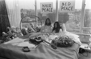Bed-In for Peace, Amsterdam 1969 - John Lennon & Yoko Ono 17 - Bed-In - Wikipedia