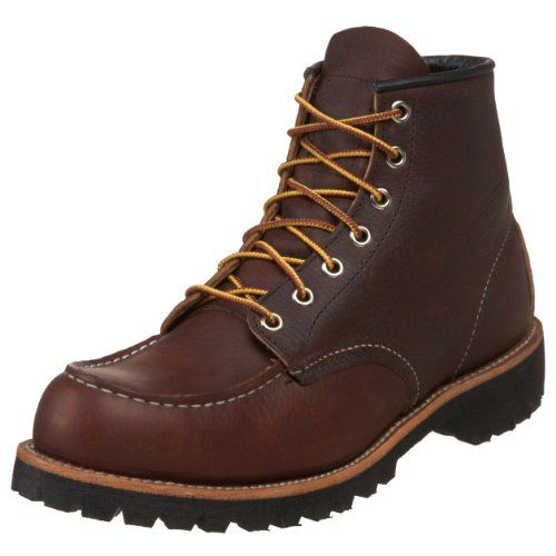 Save $41.00 on Red Wing Heritage Men's 8146 6-Inch Moc Toe Lug Boot; only $219.00 + Free Shipping