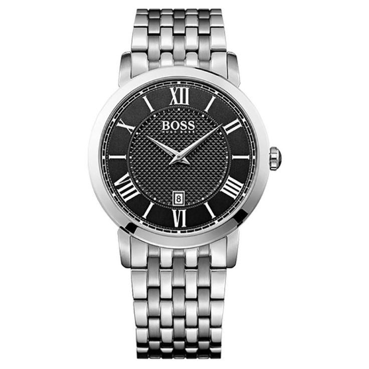 Hugo Boss Gentleman Stainless Steel Bracelet Watch 1513140